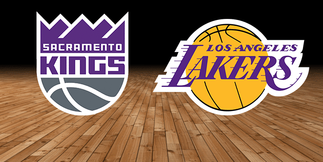 Sacramento Kings vs. Los Angeles Lakers