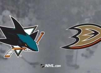 San Jose Sharks vs. Anaheim Ducks
