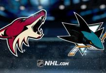 Arizona Coyotes vs. San Jose Sharks