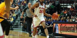 Brown Bears at St. John's Red Storm