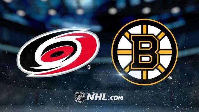 Carolina Hurricanes vs. Boston Bruins