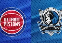 Dallas Mavericks vs. Detroit Pistons
