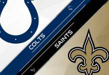 Indianapolis Colts at New Orleans Saints