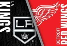 Los Angeles Kings at Detroit Red Wings
