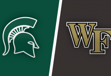 Michigan State Spartans vs Wake Forest Demon Deacons