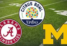 Michigan Wolverines vs Alabama Crimson Tide - Citrus Bowl