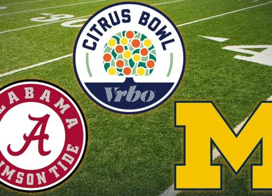 Michigan Wolverines vs Alabama Crimson Tide - Citrus Bowl