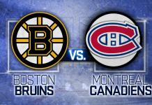 Montreal Canadiens at Boston Bruins