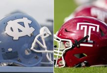 North Carolina Tar Heels vs Temple Owls