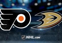 Philadelphia Flyers vs. Anaheim Ducks