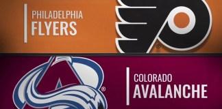 Philadelphia Flyers vs. Colorado Avalanche