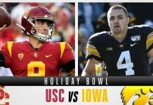 USC Trojans vs Iowa Hawkeyes