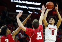 Wisconsin Badgers at Rutgers Scarlet Knights