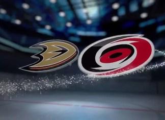 Anaheim Ducks at Carolina Hurricanes