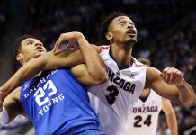 BYU Cougars at Gonzaga Bulldogs