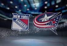 Columbus Blue Jackets vs. New York Rangers