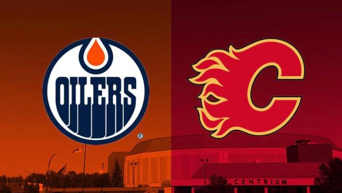 Edmonton Oilers at Calgary Flames