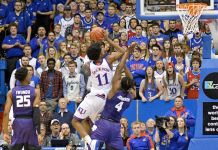 Kansas State Wildcats at Kansas Jayhawks