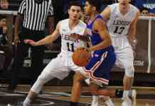 Lehigh Mountain Hawks at American University Eagles