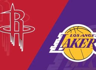 Los Angeles Lakers at Houston Rockets