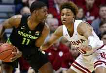 Michigan State Spartans vs. Indiana Hoosiers