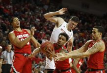 Nebraska Cornhuskers at Ohio State Buckeyes