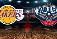 New Orleans Pelicans vs. Los Angeles Lakers