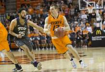 Oklahoma State Cowboys at TCU Horned Frogs