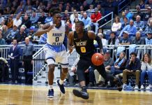 Rhode Island Rams at VCU Rams