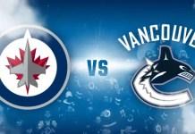 Vancouver Canucks vs. Winnipeg Jets