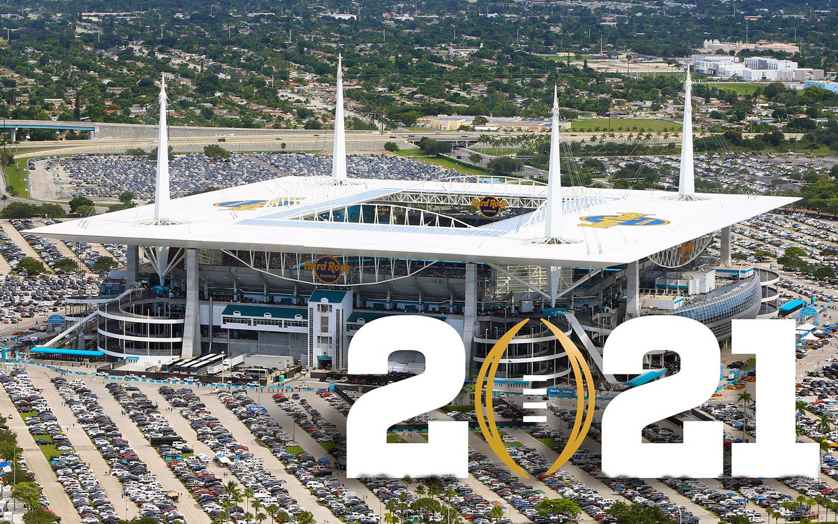 Odds to win the 2020-21 College Football National Championship