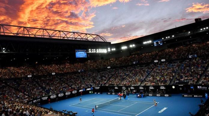 mens Austrailian Tennis Open
