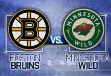Boston Bruins at Minnesota Wild