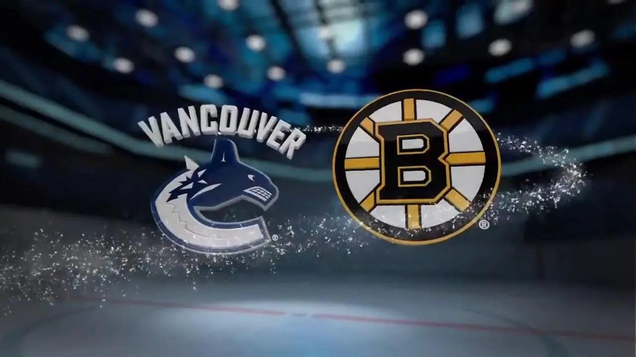 Boston Bruins at Vancouver Canucks 2/22/20 Pick & Prediction