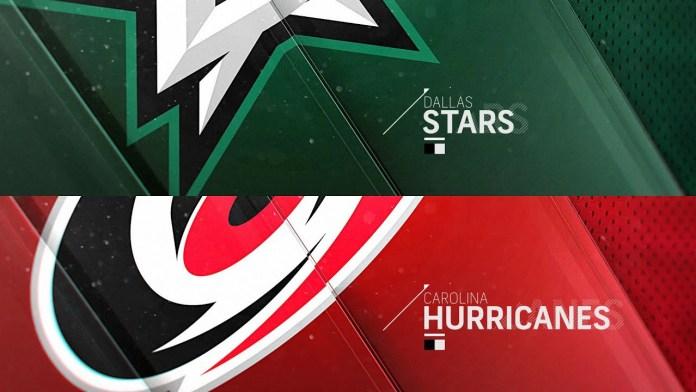 Carolina Hurricanes at Dallas Stars