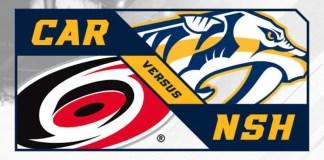 Carolina Hurricanes vs. Nashville Predators