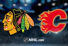 Chicago Blackhawks at Calgary Flames