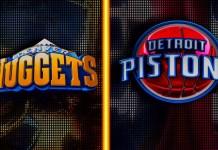 Detroit Pistons at Denver Nuggets