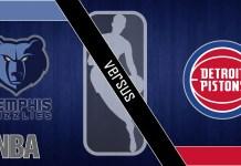 Detroit Pistons at Memphis Grizzlies