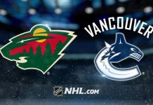 Minnesota Wild vs. Vancouver Canucks