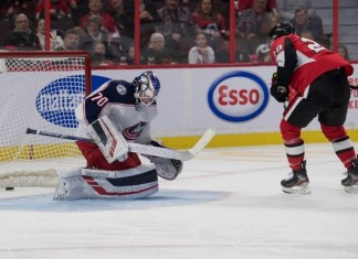 Ottawa Senators vs. Columbus Blue Jackets