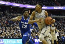 Seton Hall Pirates at Georgetown Hoyas