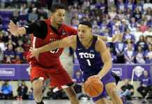 TCU Horned Frogs at Texas Tech Red Raiders