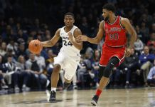 Xavier Musketeers at St. John's Red Storm