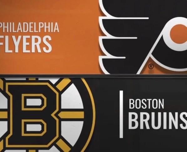 Boston Bruins at Philadelphia Flyers