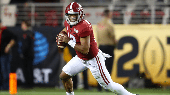Betting Odds: Who's Taking Tua Tagovailoa In The 2020 NFL Draft?