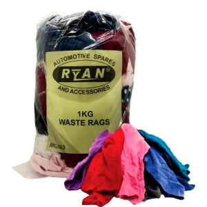 CLOTH WASTE RAGS 1KG