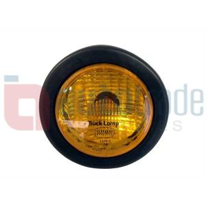 TRUCKLAMP DELUX AMBER S/S