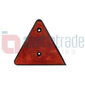 REFLECTOR TRIANGLE AMBER