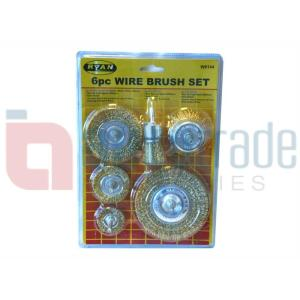 WIRE BRUSH SET 6PC